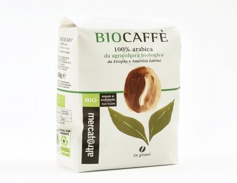 Caffè 100% arabica in grani Altromercato