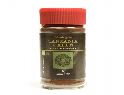 Caffè BIO Tanzania Solubile Altromercato