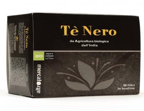 Tè nero 50 bustine Altromercato