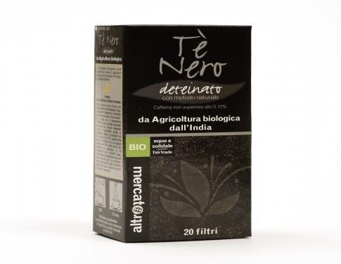 Tè nero deteinato Altromercato