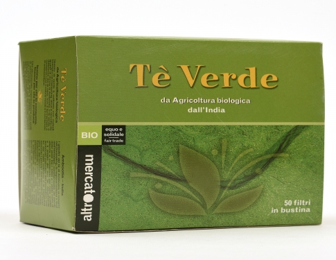 Tè verde 50 filtri Altromercato