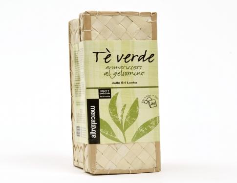 Tè verde al gelsomino cestino 25 filtri