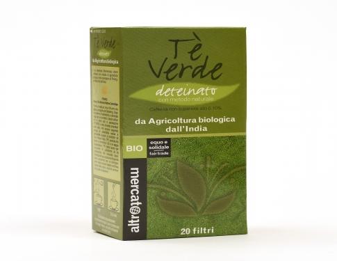 Tè verde deteinato Altromercato