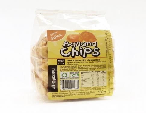 Banana chips dolci Altromercato