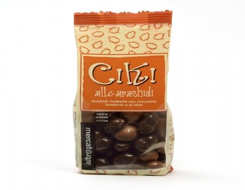Ciki Arachidi ricoperti al cioccolato