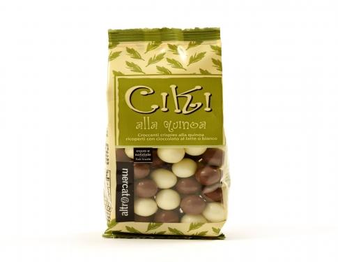 Ciki  Quinoa ricoperta al cioccolato