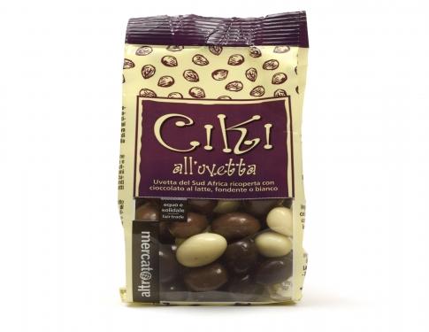 Ciki Uvetta ricoperta al cioccolato