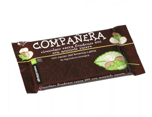 Cioccolato fondente extra nocciole
