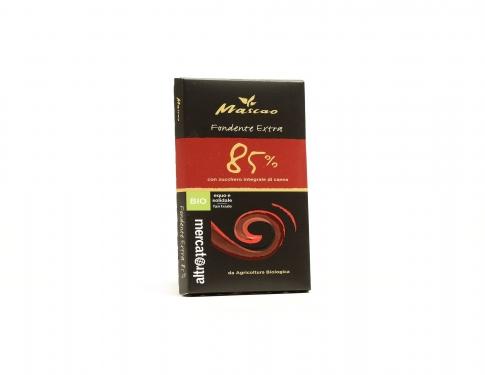 Mascao Cioccolato fondente extra 85% BIO