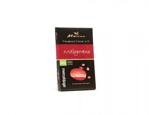 Cioccolato fondente extra melograno BIO