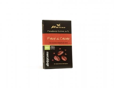 Cioccolato fondente extra fave di cacao
