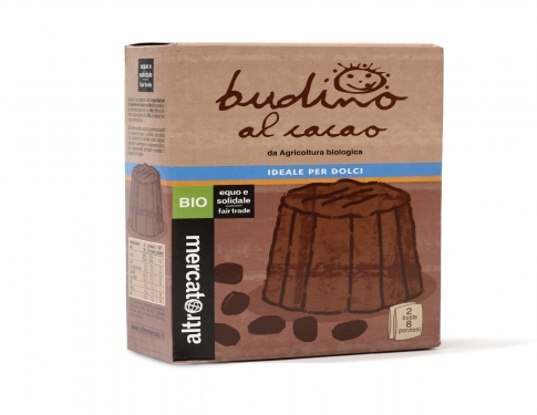 Budino al cacao BIO preparato in polvere