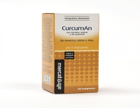 Curcuma in compresse Altromercato
