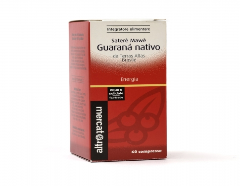 Guaranà nativo saterè mawè in compresse