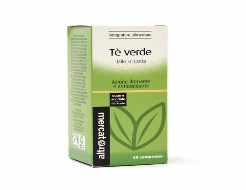 Tè verde in compresse Altromercato