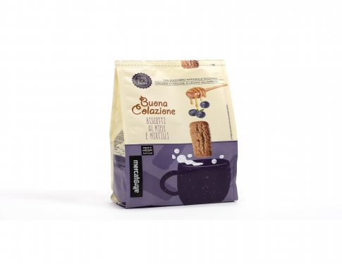Biscotti miele e mirtilli Altromercato