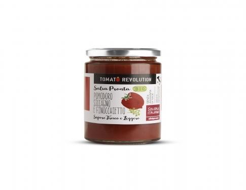 Salsa pomodoro siccagno e finocchietto