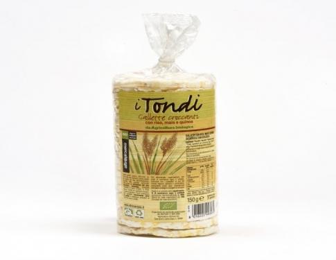 Gallette al mais, riso e quinoa BIO