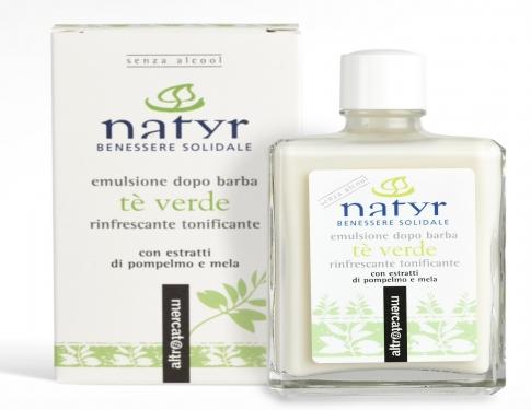 Emulsione dopobarba Tè verde