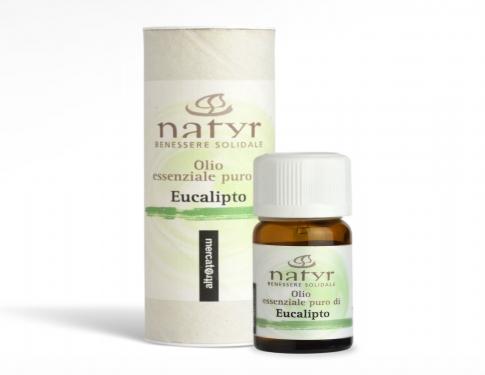 Olio essenziale puro di eucalipto