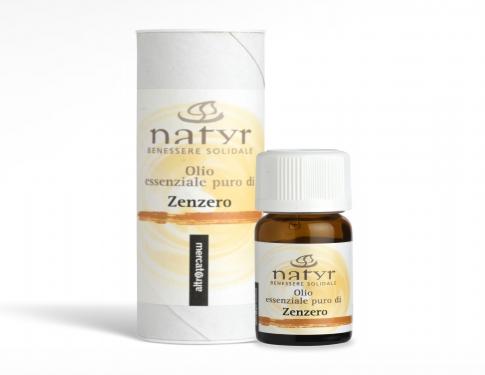 Olio essenziale puro di zenzero