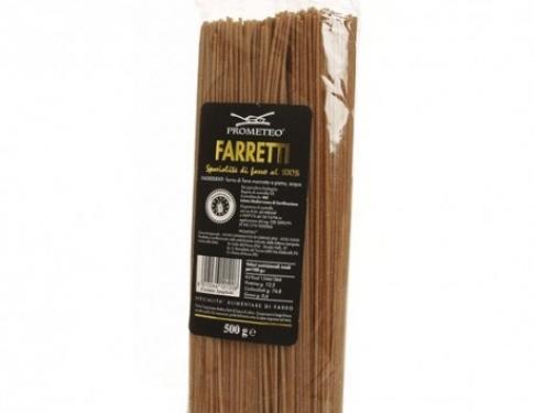 Spaghetti integrali di farro dicocco