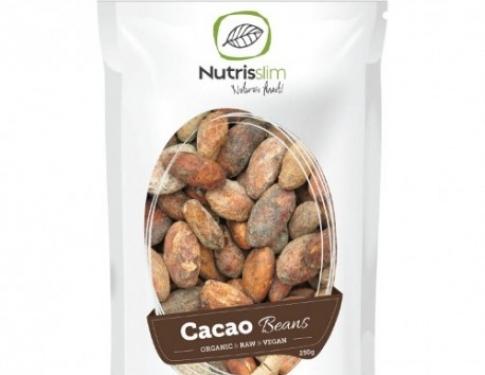 Fave di cacao crude intere