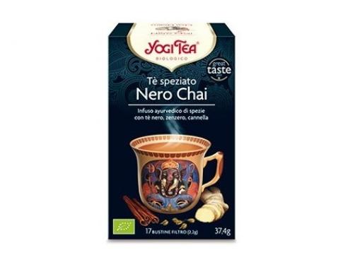 Tè chai nero speziato