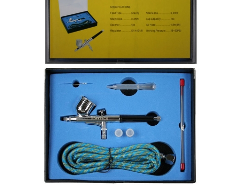 Hofftech Germany Kit Airbrush Completo