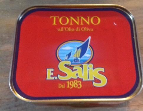 Tonno All'olio Di Oliva Salis Dal 1983