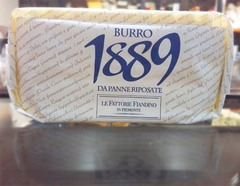 Burro Artigianale 1889 Fiandino