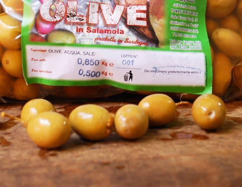 Olive Sarde in Salamoia
