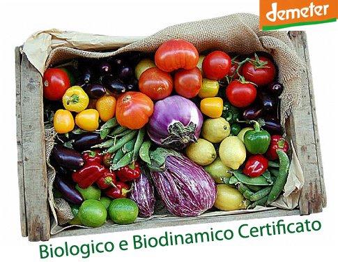 Cassetta Biodinamica Verdura Frutta